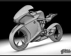 3D model HONDA V4 concept bike