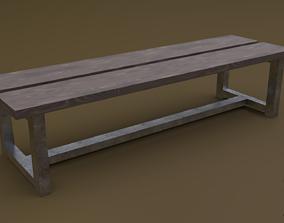3D asset Bench 24