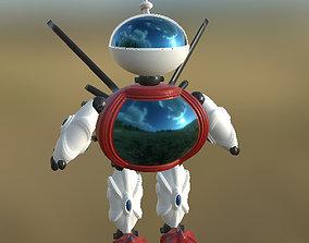Robot 03 Not Rigged PBR 3D asset