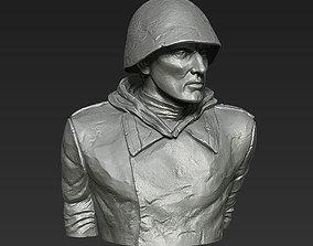 Soviet Soldier WW2 3d print model