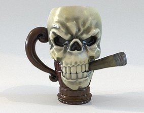 Mug - Skull 3D print model