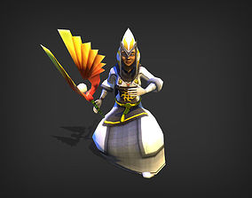 Holy Priest Model animated