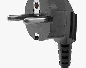 Black Plug 3D model
