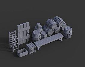 3D print model Wood Pack