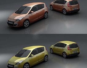 3D model Renault Scenic