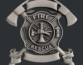 3d STL models for CNC or 3d printer Fire Rescue