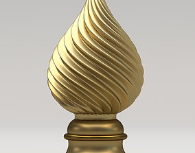 3D Carved Finial