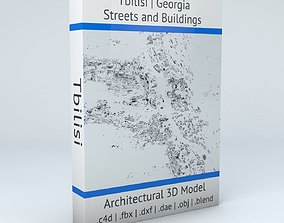 3D model Tbilisi Streets and Buildings