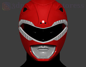 3D printable model Red Ranger Mighty Morphin Power 4