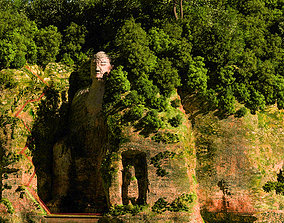 3D Chinese classical garden 042 Leshan Buddha