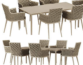 3D model Leon Dining table
