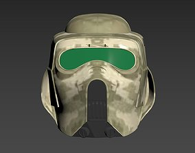 Star Wars 41st Clone scout trooper 3D printable model 3