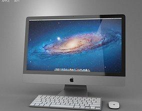 Apple iMac 27 2012 3D asset