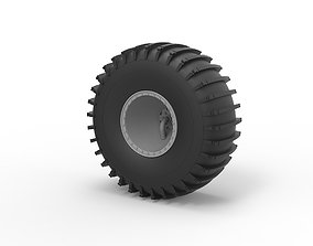 3D printable model Diecast Wheel from Atlas ATV Scale 1 to