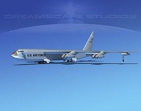 Custom Boeing B-52C Stratofortress 3D model