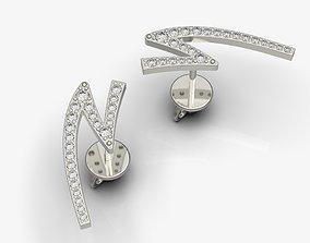Diamond studs 3D printable model
