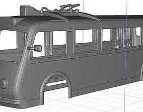 Trolebus Bilbao Body Shell 3D printable model