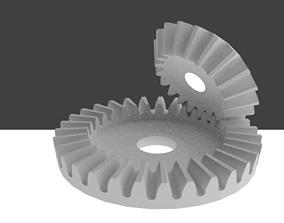 bevel gear 3D printable model