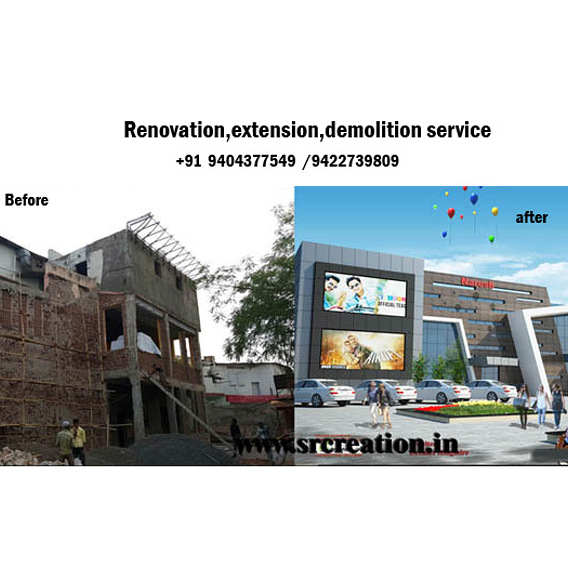 house renovation,exterior makeover,home renovation company service in INDIA