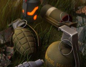 3D model Grenade Bundle