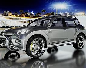 3D asset DAV Jeep 2017