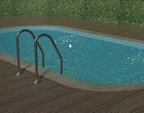 3D model Simple Swimming Pool