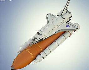 Space Shuttle Atlantis 3D