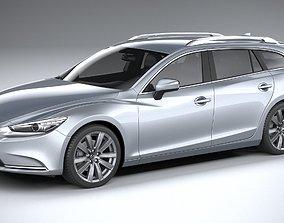 3D model Mazda 6 Wagon 2020