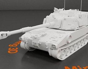 3D asset M109 A6 Paladin