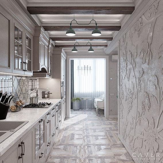 QQ2 living room-kitchen