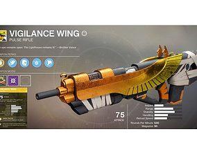 3D printable model Vigilance Wing Rifle - Destiny Inspired