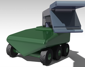 Unmanned Ground Vehicle 3D asset