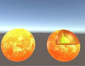 the sun 3D print model