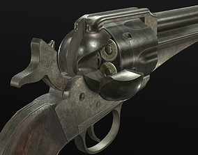 3D model Remington 1875 Revolver - Uberti 1875 Outlaw