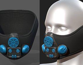 VR / AR ready Gas mask respirator scifi futuristic 1