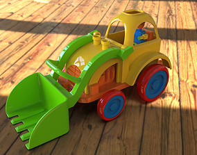 toys 3D print Ready toy loader