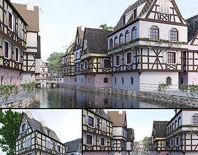 Strasbourg La Petite France 3D model
