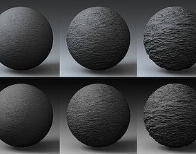 3D Displacement Landscape Shader 007