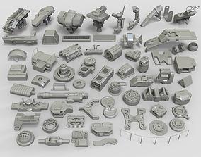 3D model Kit bash - 61 pieces - collection-29