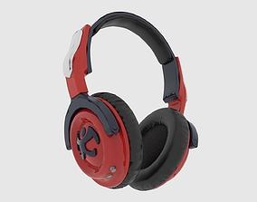 audio Headphone 3D model game-ready