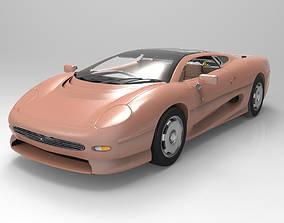 3D model Jaguar XJ 220