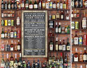 3D Big Alcoholic Bar