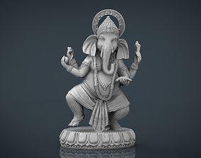 Dancing Ganesha 3D model