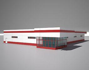 Shop Building 2 3D model