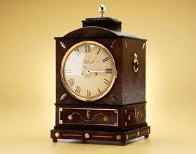 3D model PBR Antique clock