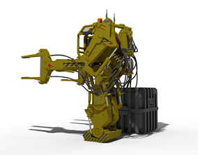 Power Loader 3D print model