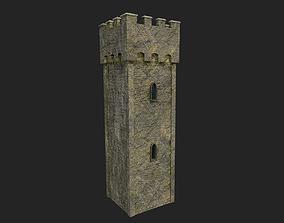 3D model Medieval Castle Tower