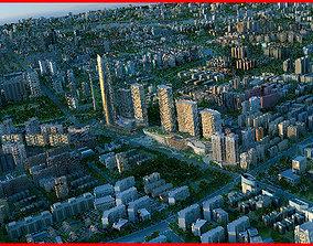 Modern City Animated 147 3D model