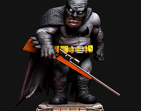 3D print model Batman the dark knight caricature
