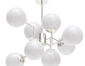 Chandelier Pendant Lamp Erich Maytoni 2 3D model
